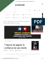 7 façons de gagner la confiance de ses clients - Apprenti Millionnaire.pdf
