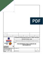 109-D91PC-013 - PROCEDIMIENTO CONEXIÓN DE INSTRUMENTOS