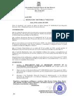 Reglamento Promoción Docente UNMSM
