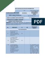 Instrumento proceso administrativo