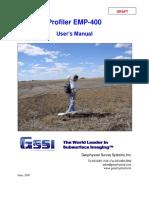Manual Profiler EMP-400 Manual-DRAFT