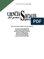 Ciencia Sociales. El gran Desafio