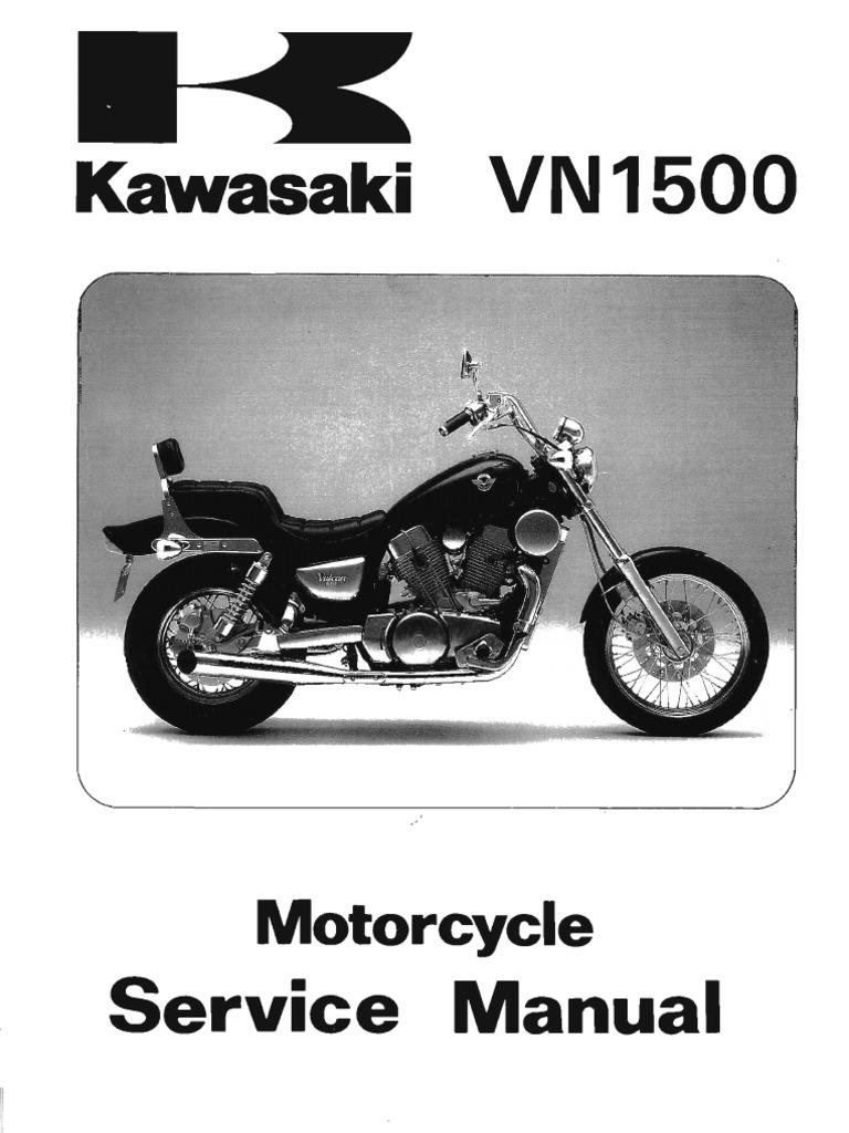 Kawasaki Vn1500  U0026 39 87