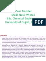 Mass Transfer, Malik Nasir Wirali
