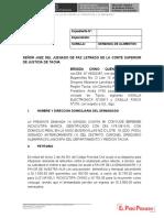 MODELO DE DEMANDA DE ALIMENTOS