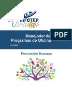 Formacion Humana Unidad 1 del Modulo 1.doc