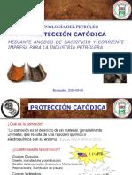 Protección Catódica MEDIANTE ANODOS DE SACRIFICIO Y CORRIENTE IMPRESA PARA LA INDUSTRIA PETROLERA