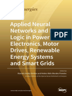 Applied Neural Networks and Fuzzy Logic in Power Electronics Motor Drives Renewable Energy Systems and Smart Grids