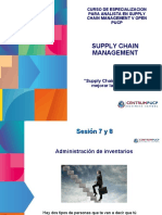 Centrum Supply Chain Sesiones 7 y 8