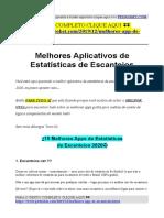 Melhores Aplicativos de Estatísticas de Escanteios.pdf