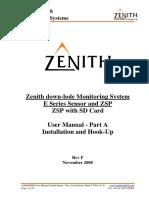 Manual panel Zenith Part A