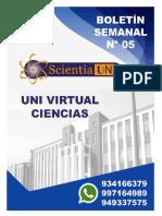 BOLETÍN 05 - CIENCIAS