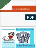 Expressions avec des animaux