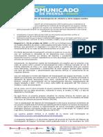 Comunicado simplificación homologación VF