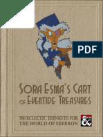 Sora Esmas - Cart of Eventide Treasures