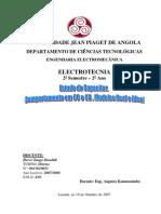 Estudo do Capacitor em DC e AC_Modelos Real e Ideal