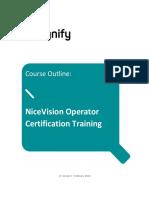 NiceVision Operator Training
