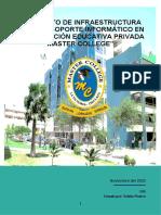 Infraestructura de Cablead a Institucion Educativa