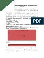 Unidad 3. Programación no Lineal - Investigación de Operaciones
