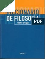 BRUGGER, Walter - Diccionario de Filosofia, Herder, 2000 (OCR)