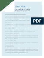 Laman Nilai Pendidikan Moral SPM.