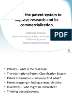 OTN - Mining the Patent System to Improve Research and Its Commercialization [M. Spence]