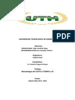 Metodologia (JIT) y 9s