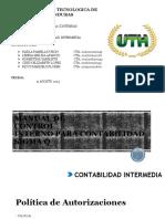 contabilidad Intermedia Politicas