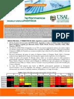 USAL Indice de Performance Económica Dic 2020