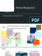 childrens trend research project vintin   boyer