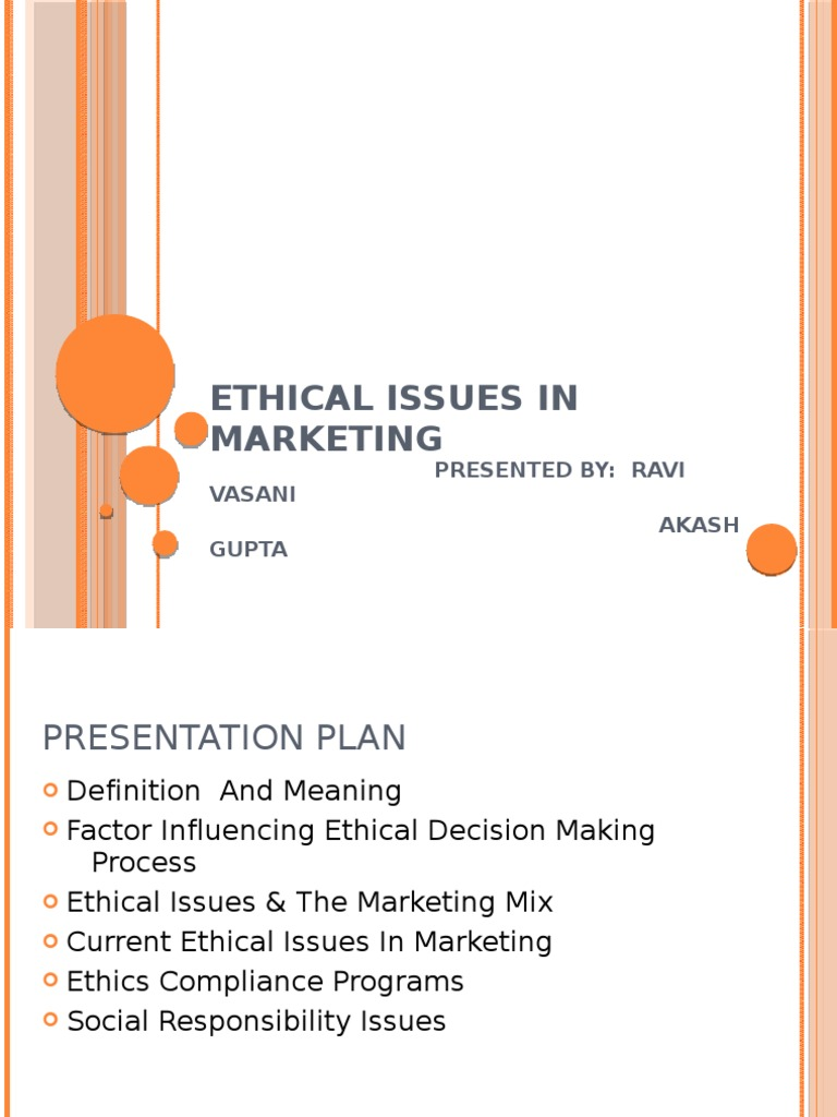 26951329-Ethical-Issues-in-marketing-by-akash-and-ravi | Pricing