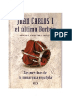 Juan Carlos I El Ultimo Borbon - Martinez Ingles Amadeo