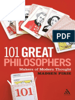 101 great philosophers by Pirie, Madsen