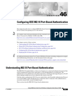 Configuring 802.1X Port-based Authentication