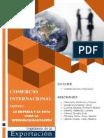 Comercio internacional - Capítulo I