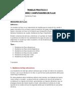 MEDIDORES DE FLUJO y COMPUTADOR DE FLUJO