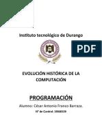 Evolucion de La Compu