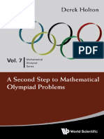 -Mathematical Olympiad Series- Holton, Derek Allan - A second step to mathematical olympiad problems (2014, World Scientific).pdf