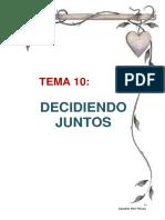 010 Leccion 10 - Decidiendo Juntos