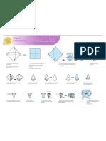 origami-8petal-flower-print