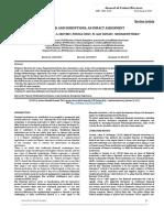 FINTECH AND DISRUPTIONS-AN IMPACT ASSESSMENT