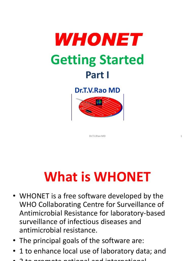 Программа whonet скачать бесплатно