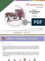 CEDEX Aprende en Casa 8 Familia Comunidad y Sociedad