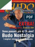 Rivista Arti Marziali Budo Nostalgia Extra - Settembre.Ottobre 2013
