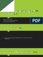 Actividad evidencia configuracion FTP