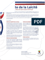 Affiche Charte laïcité