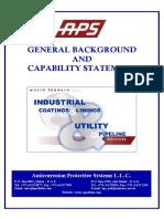1. APS - New Capability Statement