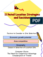 11 Retail Location Strategies and Decisions