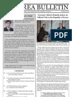 Korea Bulletin (January 2011 Issue)