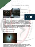 Alfa 147 - Coperchio airbag destro sollevato